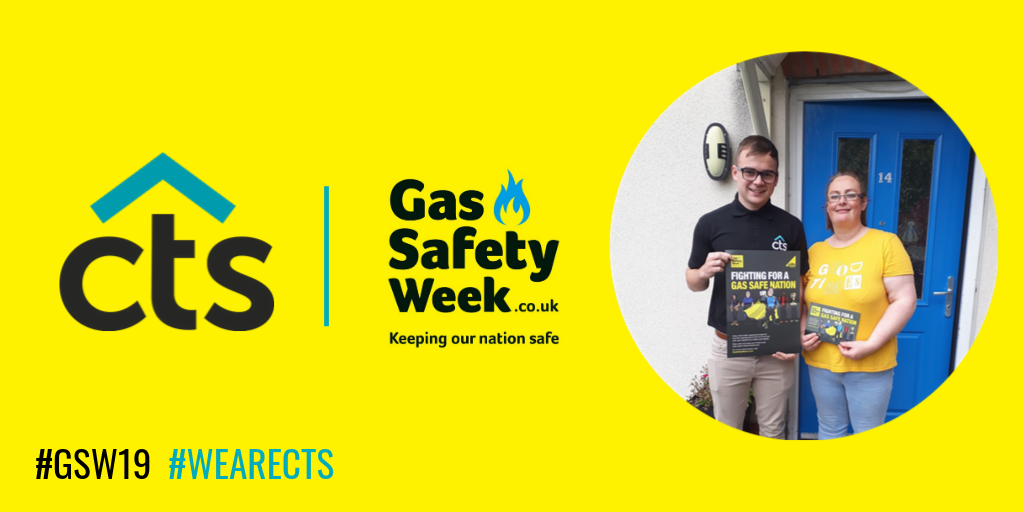 CTS supporting gas safety.