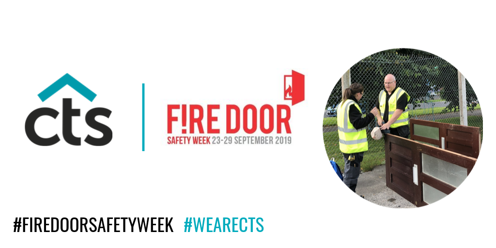 CTS Supporting Fire Door Safety Week