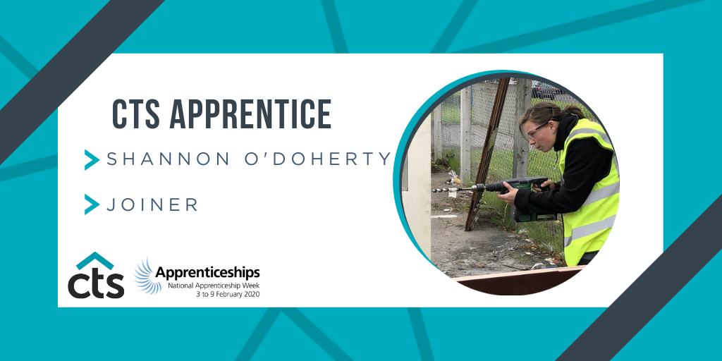 CTS Apprentices – Shannon O'Doherty