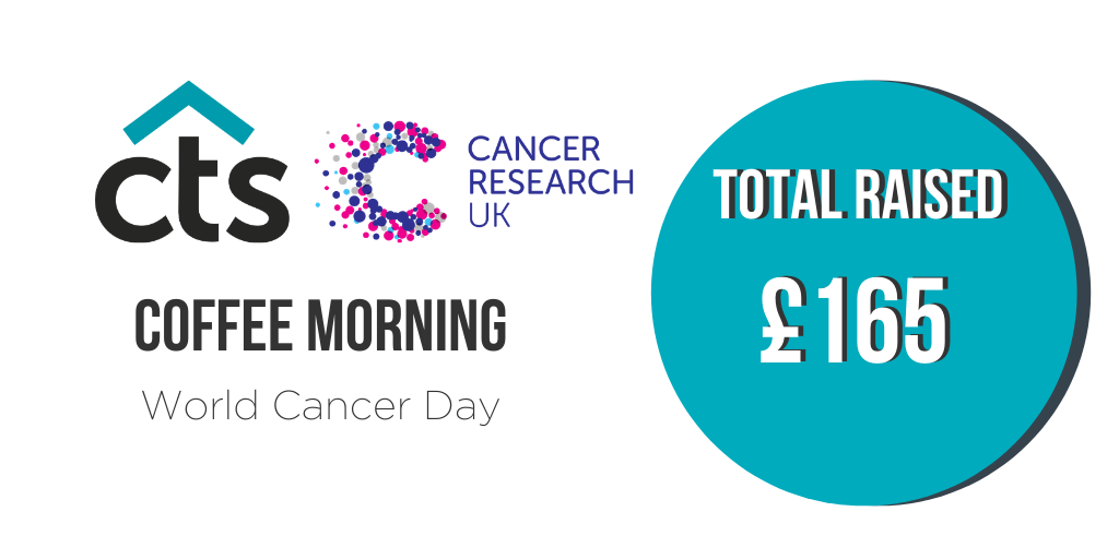 CTS Raise Money for Cancer Research UK