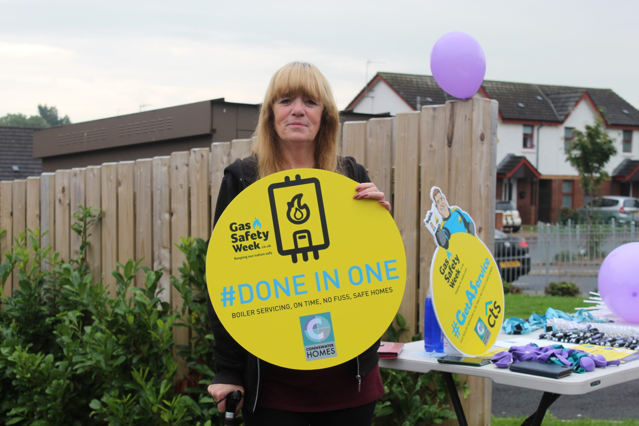 CTS SUPPORT GAS SAFETY WEEK BY TEAMING UP WITH CLIENTS